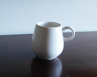 Vintage McCoy White Collectible Mug #7029
