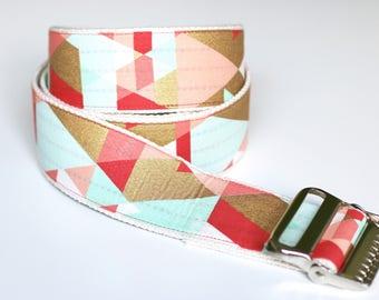 "High Quality Custom Gait Belt and Badge Reel ""The Sonya"""