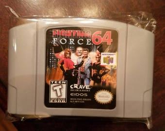 Fighting Force 64 N64 Custom English