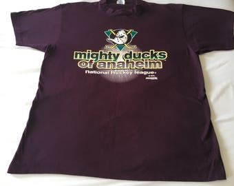 Mighty Ducks of Anaheim Shirt 90s