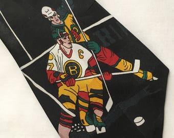 Vintage Hockey Tie