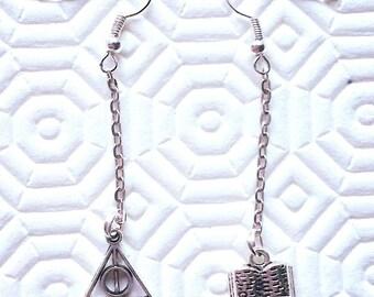 Harry Potter handmade earrings
