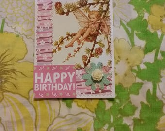 The Larch Fairy Birthday card
