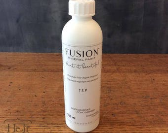 Fusion Mineral Paint TSP - 250mL - Phosphate-Free Organic Degreaser - eco friendly, no VOCs