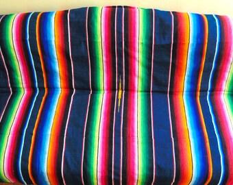 Mexican Serape, Serape , Mexican Blanket, Picnic Blanket, Striped Wool Throw, Beach Blanket, Serape Blanket, Boho Throw Blanket, Throws