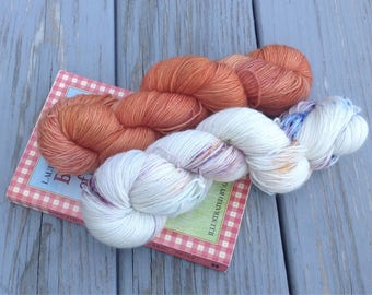 By the Shores of Silver Lake - Hand dyed yarn