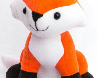 "Made To Order - Fox Plush, Cuddly Fox, 12"" Plush"