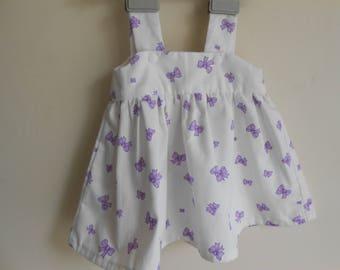 baby bib dress size 6-9 months