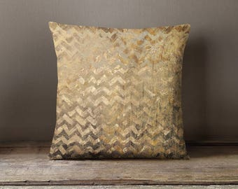 Gold Pattern Throw Pillow Cover Decorative Pillow Case Cushion Cover Pillow Shams Custom Pillowcase Pillow Sham Home Decor Pillow Sham