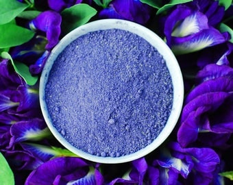 Organic Blue Butterfly Pea Flower Powder Natural Food