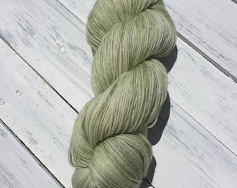 Celery - Fingering Sock Hand Dyed Yarn