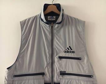 Adidas Sleeveless Vintage 90s Biglogo Size XL