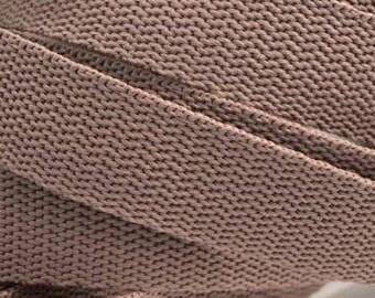 3 m belt bag belt 30 mm in light brown