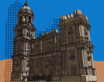 Malaga Cathedral.