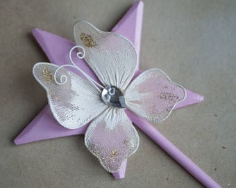 Flower wand for little fairy