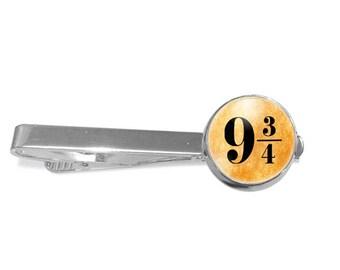 Platform 9 3/4 Tie Clip Harry Potter Tie Clip Hogwarts Express Tie Clip PM-380T