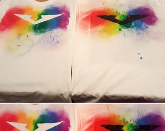 Ready to Ship Voltron Inspired Pride Rainbow Shirt