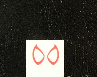 Spiderman Homecoming Eyes Marvel Decal Any Size Any Colors