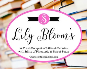 NEW SCENT Lily Blooms, It Ends With Us, Colleen Hoover Inspired Soy Candle