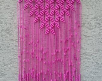 Macrame Wall Hanging pink