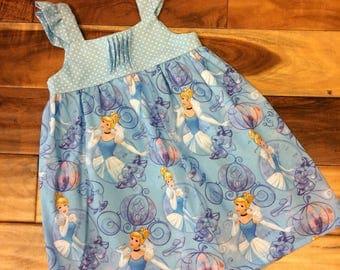 Toddler Disney Cinderella sundress