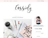 Blogger Template - Premade Blog Templates - Blog Theme - Responsive Blogger Template - Blogger Theme - Blogspot - Blog Design - Feminine