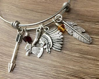 FSU Florida State Seminoles adjustable bangle