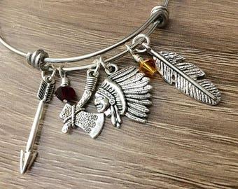 FSU Florida State Seminoles adjustable bangle