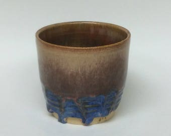 Ceramic tea cup, wheel thrown cup, tea cup, ceramics, pottery, wheel thrown pottery, cup, handmade cup, brown tea cup