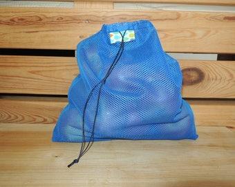 Re.Vrečka. (one) - Upcycled & Reusable Shopping Storing bag, Vegetables Lace bag, Eco friendly, Farmers Market Garden bag