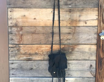 On sale Hand crafted leather medicine bag