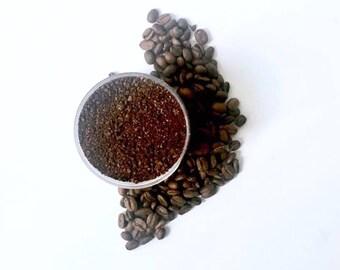 ORGANIC COFFEE SCRUB | Coffee Scrub, Organic Body Scrub | Organic Sugar Scrub | Vegan Body Scrub | Natural Body Scrub | Gifts For Her