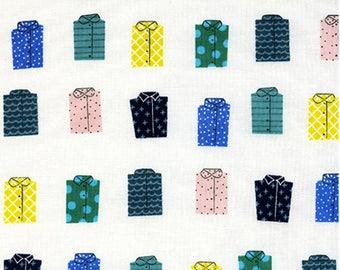 Cotton + Steel- Kujira and Star- Whales Dont Wear Shirts- Rashida Coleman Hale