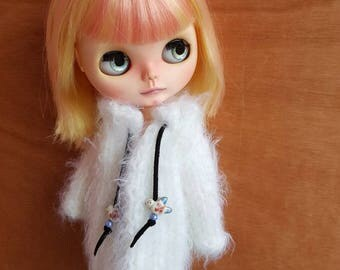 "Clothing: vest ""DORI"" for dolhouse 1/6 (blythe, jecci five, icy doll, pullip...)"
