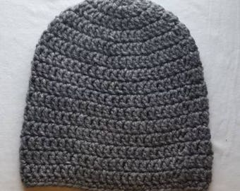 Basic Fitted Beanie / Crochet Beanie / Crochet Hat / Gifts for him and her