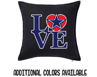 Dallas Cowboys Football Fan Throw Pillow - NFL Sports Pillow - Dad Gift - Man Cave Gift - Gift for Him - Rec Room Decor - Dallas Collectible