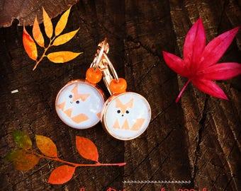 Fox Fox earrings