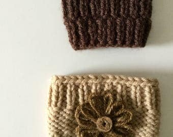 Cup sleeve/ Cup cozy/ Coffee Cup Sleeve / Tea Cup Sleeve / Knitted Cup Cozy / Re-Usable Cup Sleeve / Gift for him / Gift for her