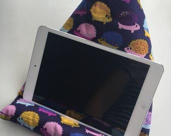 Ipad tablet ereader phone cushion mount holder stand