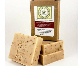 Geranium Rose and Amyris Soap