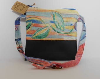 Fanny Pack // Abstract Leaf Print // True Leaf Collection