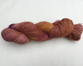 Hand dyed 4plywool - Alpaca/Merino