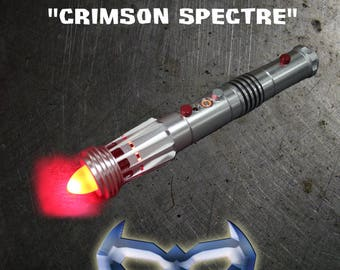 "The ""Crimson Spectre"" Cosplay and Dueling Saber"