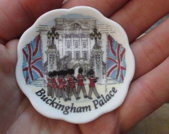 Royal Regal Miniature Plate- Buckingham Palace Plate