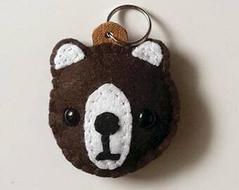 Bear - Keyring / key ring