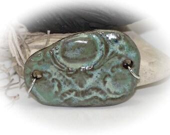 Urban Chic - Handmade Stoneware Pendant #485