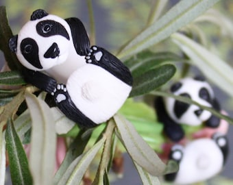 """Animal ring """"Panda"""". Panda ring. Animal jewelery"""