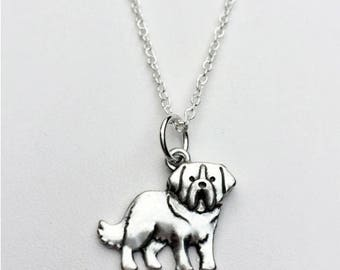 Saint Bernard Charm Necklace