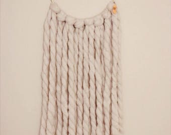 yarn wall hanging // wall hanging // gifts for her