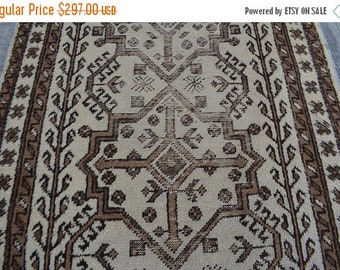 BIG SALE 12 x 3'2 FT Handmade Moroccan Low Pile Long rug runner